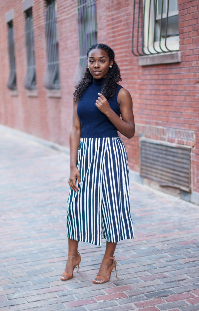 Zara Striped Culotte