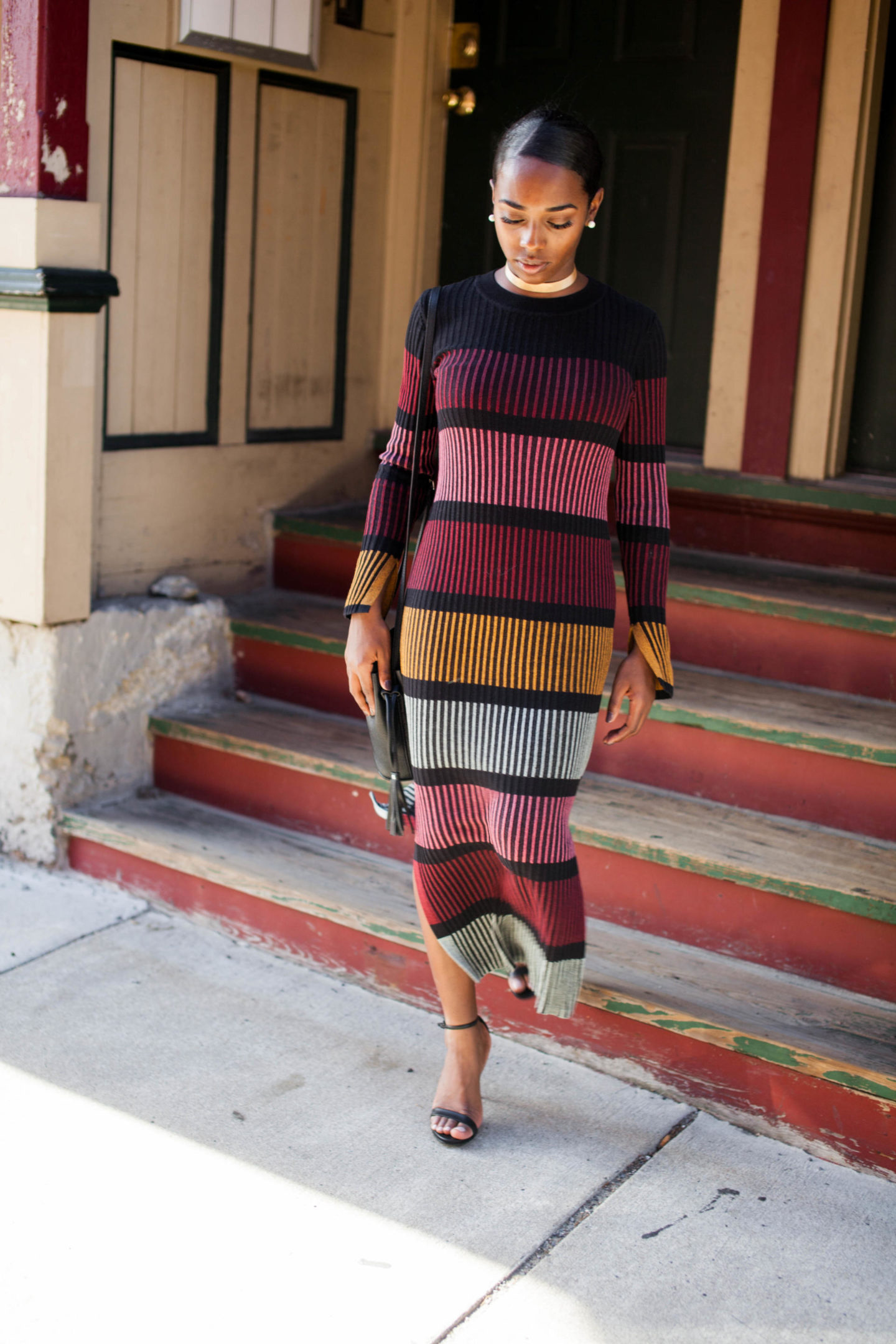 H&M Ribbed Knit Dress